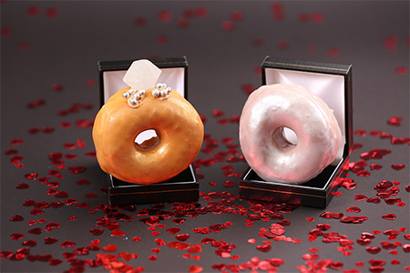 doughnut engagement ring